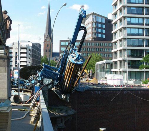 HWS Tor Kornhausbrücke, Hamburg