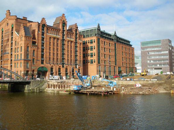 Pieranlage Elbtor, Hamburg